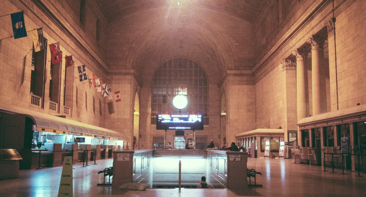 Toronto Union Station Grand Hall