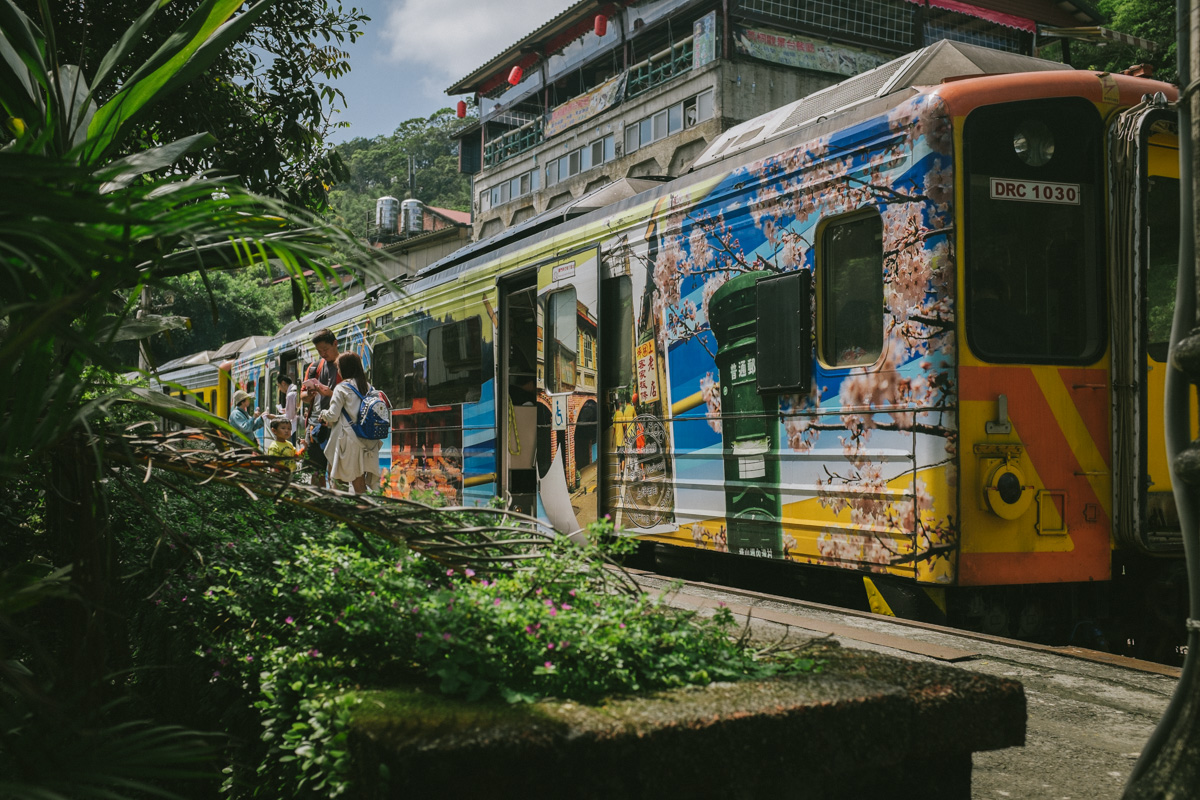 Pingxi Line train