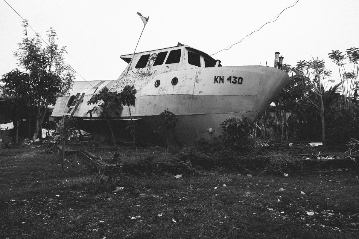 Boat in Banda Aceh