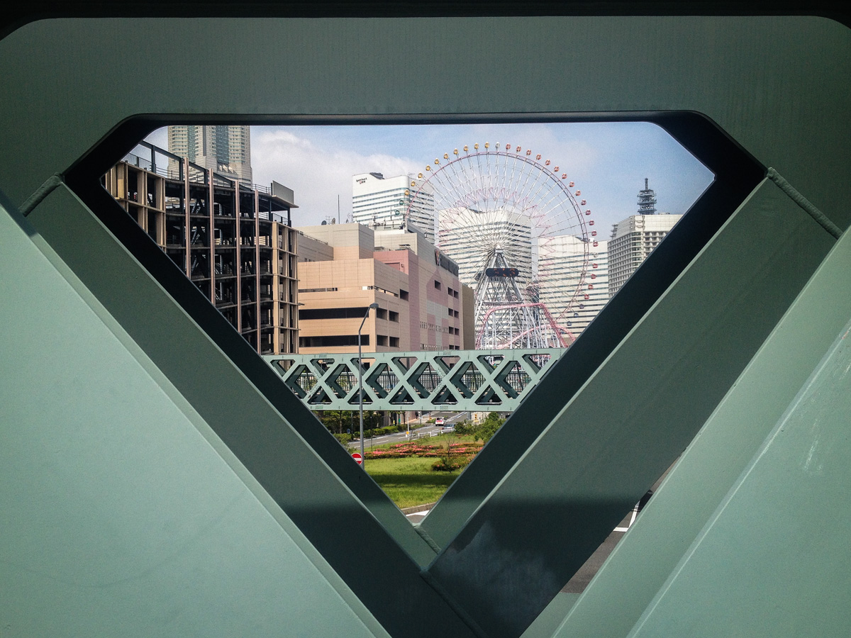 Triangle ferris wheel