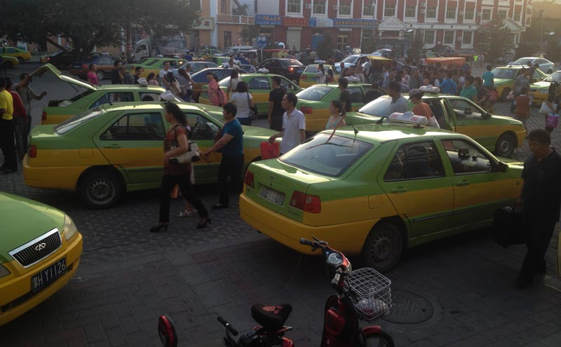 Taxis in Erlian
