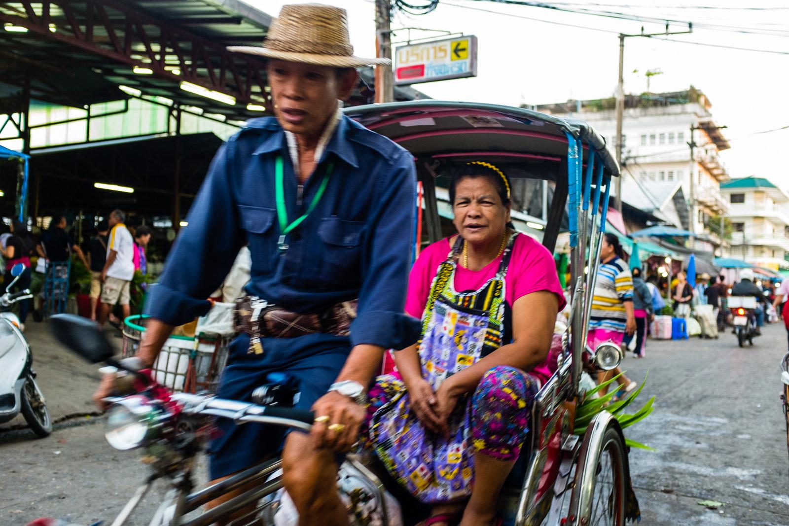 Bicycle rickshaw