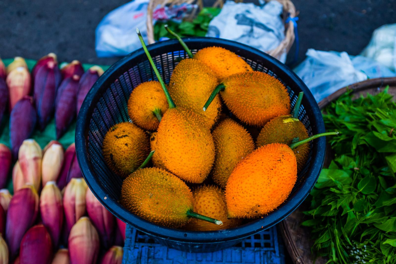 Weird orange fruit