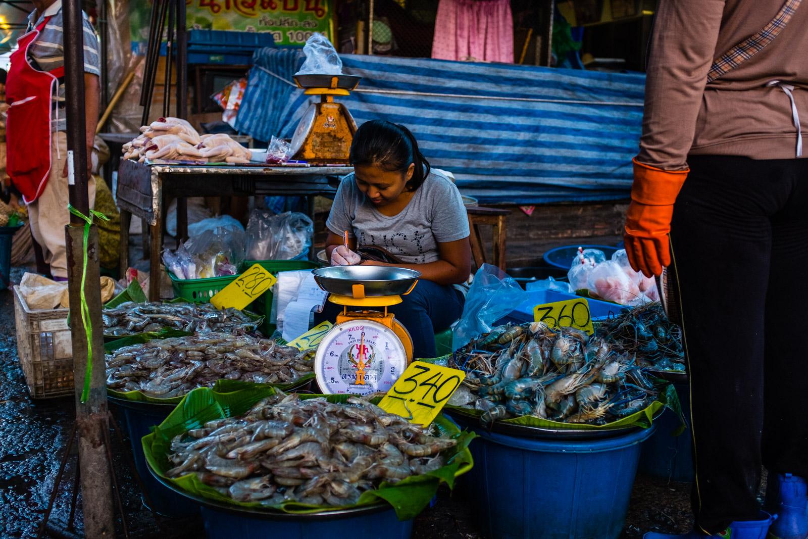Seafood girl